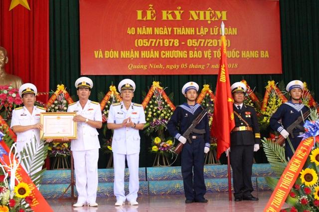 Lữ đoàn Hải quân đánh bộ 147 kỷ niệm 40 năm ngày thành lập
