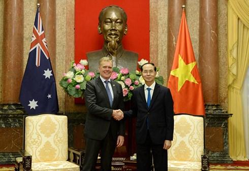 Việt Nam luôn coi trọng quan hệ hữu nghị và Đối tác Chiến lược với Ô-xtrây-li-a