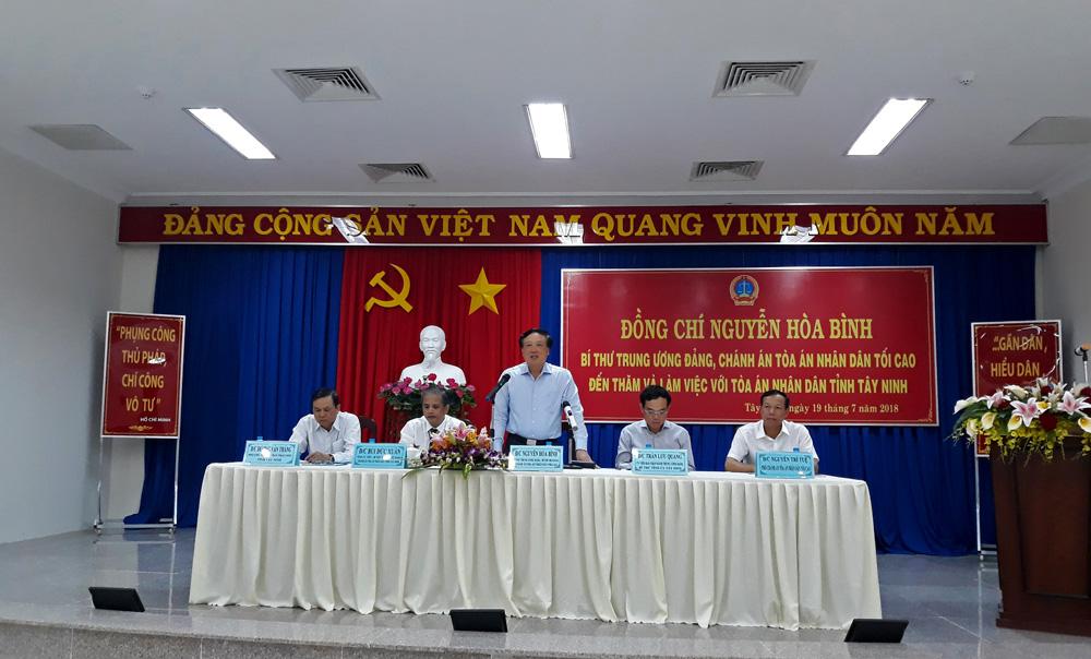 Tây Ninh cần chú trọng đào tạo, nâng cao chất lượng đội ngũ thẩm phán