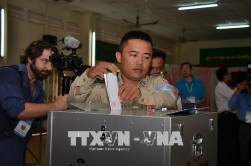Việt Nam chúc mừng Campuchia tổ chức thành công cuộc bầu cử Quốc hội khóa VI
