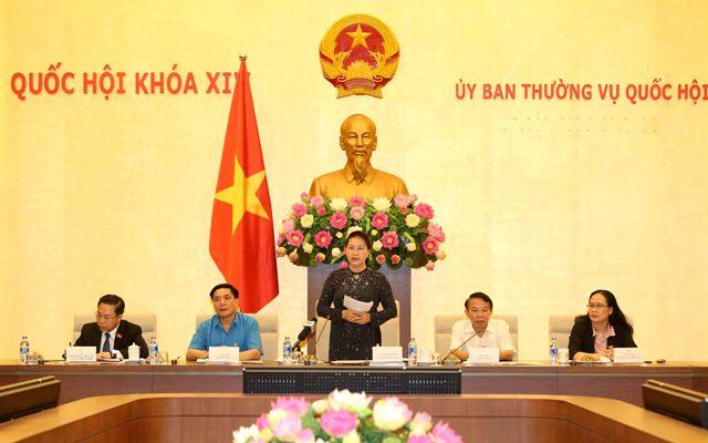 Chủ tịch Quốc hội tiếp 70 công nhân, lao động tiêu biểu nhận Giải thưởng Nguyễn Đức Cảnh