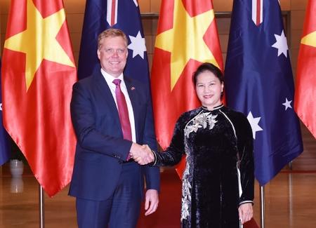 Tăng cường trao đổi, hợp tác giữa Quốc hội hai nước Việt Nam -  Ô-xtrây-li-a