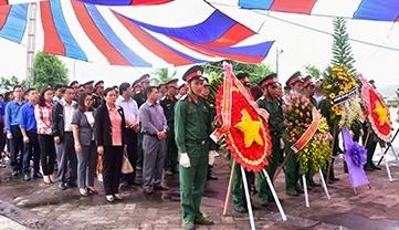 Kon Tum: Khánh thành Ngôi mộ chung của 34 liệt sĩ tại Chư Tan Kra