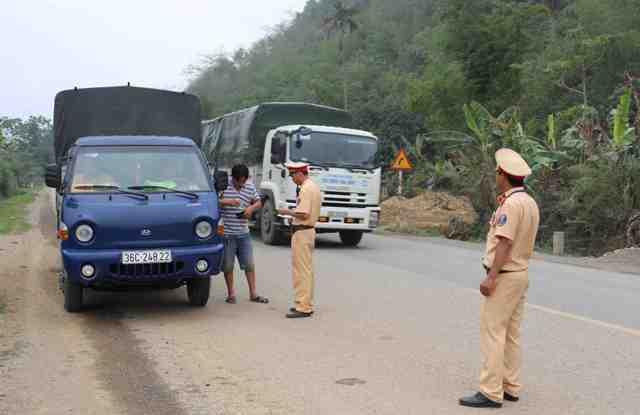 Thái Nguyên: Kiểm tra, xử lý hơn 21 nghìn trường hợp vi phạm trật tự an toàn giao thông