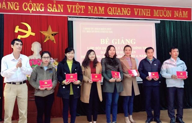 Trung tâm Bồi dưỡng Chính trị thành phố Điện Biên Phủ: Điểm sáng về công tác giáo dục lý luận chính trị