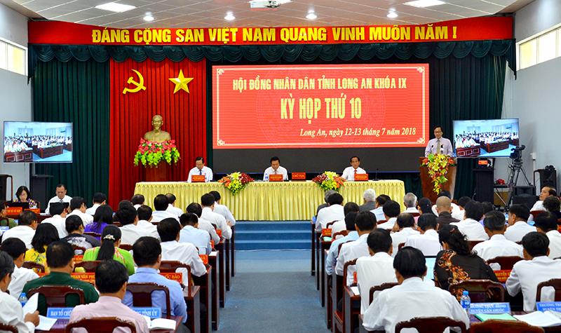Khai mạc Kỳ họp thứ 10, HĐND tỉnh Long An khóa IX
