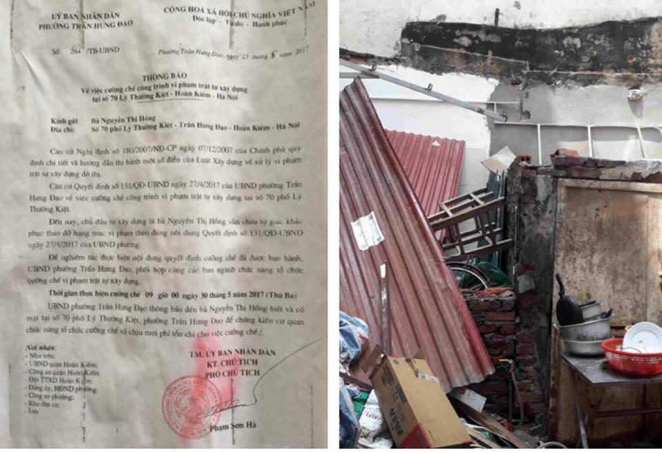 Quận Hoàn Kiếm (Hà Nội): Sớm giải quyết dứt điểm vụ việc thương binh Hoàng Văn Bạo bị người khác chiếm nhà