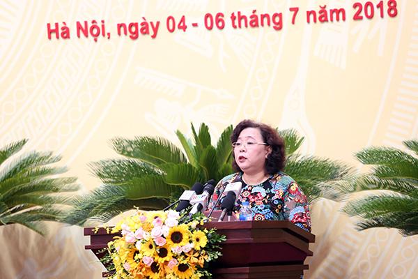 Khai mạc kỳ họp thứ 6, HĐND TP Hà Nội khóa XV