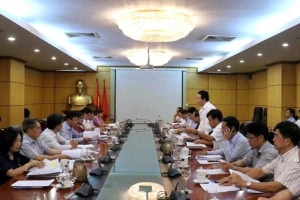Đẩy mạnh phối hợp xây dựng và thực thi văn bản pháp luật giữa Bộ Tài nguyên và Môi trường và Bộ Tư pháp