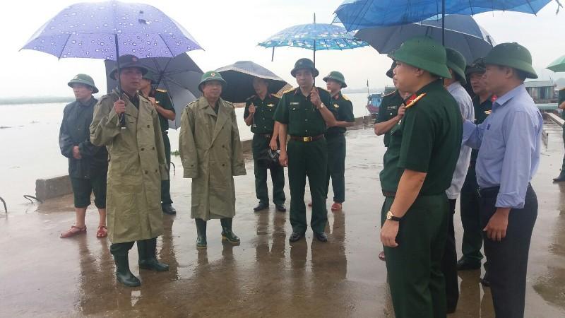 Quân khu 4 ứng phó diễn biến cơn bão số 3  