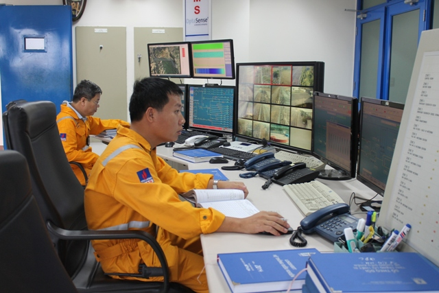 Khí Đông Nam Bộ vượt mức sản lượng khí tiếp nhận và tiêu thụ