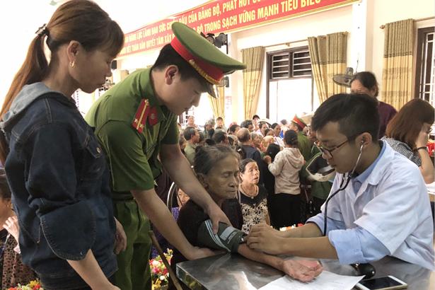 """Tuổi trẻ Bộ Công an hành trình tri ân """"Từ Truông Bồn đến Đồng Lộc"""""""