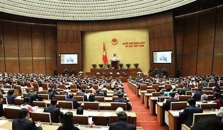 Nghị quyết Kỳ họp thứ 5, Quốc hội khóa XIV
