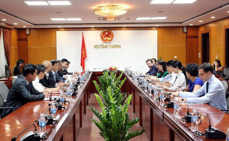 Hội đồng Kinh doanh Hoa Kỳ - ASEAN làm việc với Bộ Công Thương