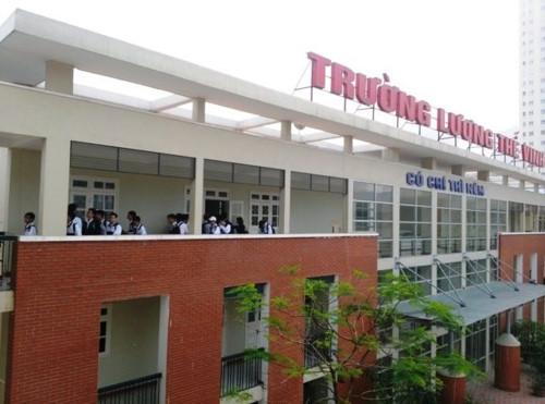 Hà Nội yêu cầu Trường Lương Thế Vinh hoàn trả toàn bộ các khoản tiền khi học sinh rút hồ sơ