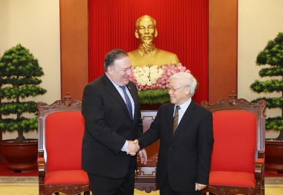 Tổng Bí thư Nguyễn Phú Trọng: Việt Nam coi trọng quan hệ với Hoa Kỳ