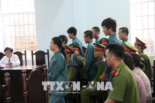 Xét xử vụ gây rối trật tự công cộng tại Bình Thuận