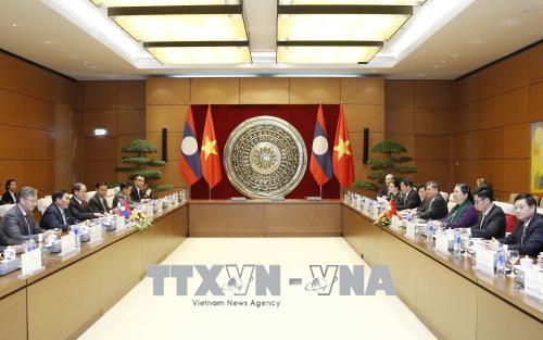 Tiếp nối truyền thống, thắt chặt quan hệ hợp tác giữa Quốc hội Lào và Quốc hội Việt Nam