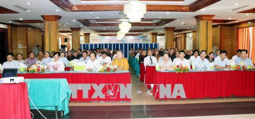 Bồi dưỡng kiến thức quốc phòng và an ninh cho chức sắc, nhà tu hành các tỉnh Bắc Trung bộ