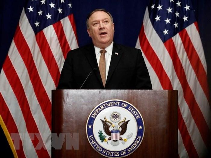 Ngoại trưởng Hoa Kỳ Michael Pompeo thăm Việt Nam