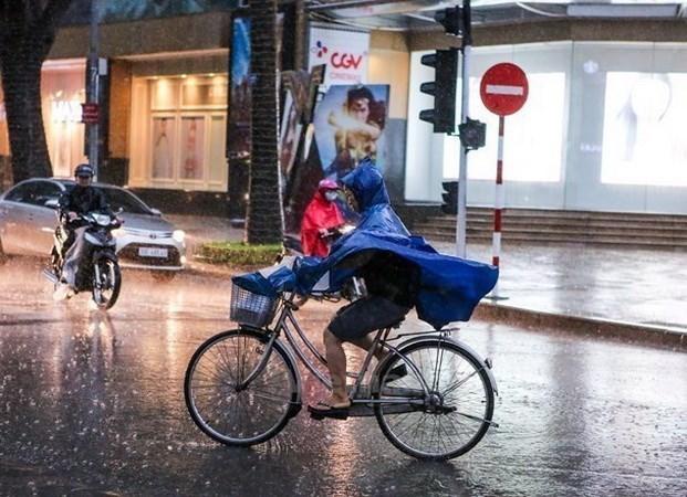 Nhiều khu vực trên cả nước tiếp tục mưa to đến rất to