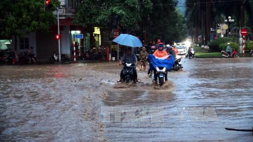 Bắc Bộ, Bắc Trung Bộ mưa rất to, cảnh báo lũ quét và sạt lở đất  