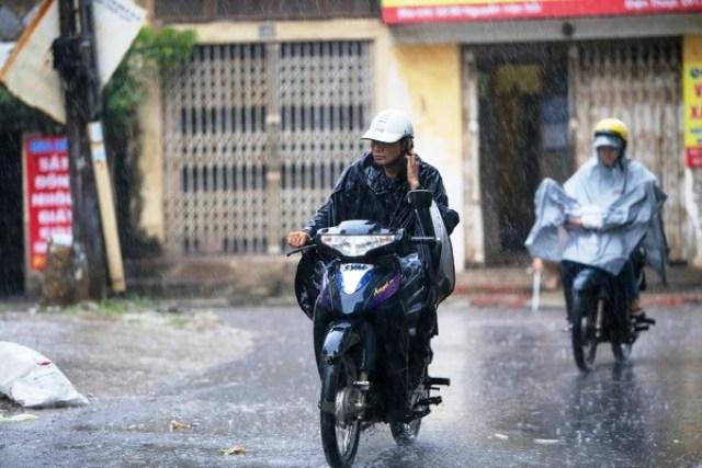 Dự báo các tỉnh vùng núi phía Bắc sẽ có mưa to đến rất to