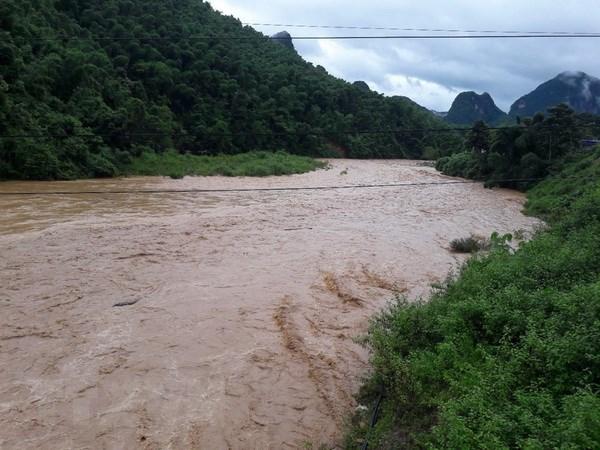 18 người chết và mất tích do mưa lũ, lũ quét, sạt lở đất