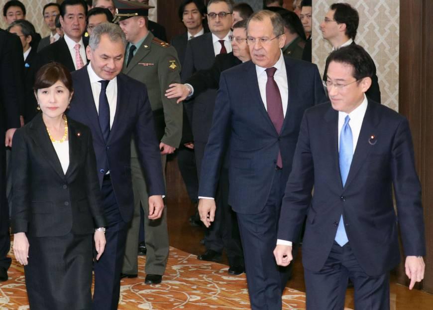 Nga và Nhật Bản tiến hành đối thoại 2+2 lần thứ 3