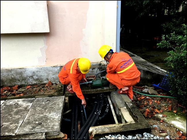 Điện lực khu vực Bắc Trung Bộ rốt ráo ứng phó bão số 3