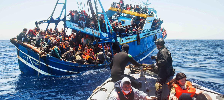 Người di cư thiệt mạng lớn nhất trong vòng 4 năm gần đây