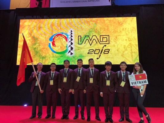Việt Nam giành 6 Huy chương tại kỳ thi Olympic Toán học quốc tế