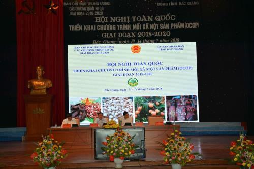 Hội nghị toàn quốc triển khai Chương trình mỗi xã một sản phẩm