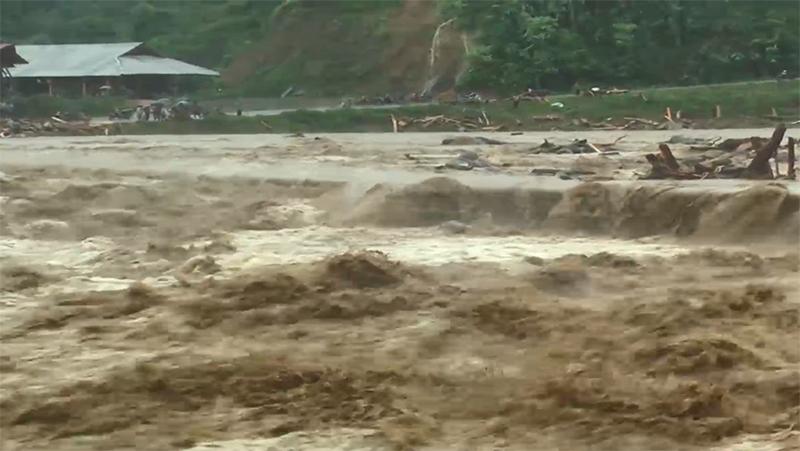 Yên Bái: Mưa lũ tiếp tục gây nhiều thiệt hại lớn