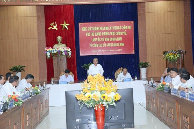 Quảng Nam cần tăng cường trách nhiệm người đứng đầu trong thực hiện cải cách hành chính