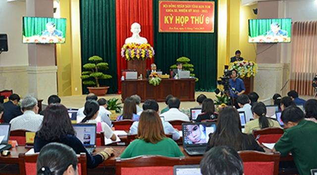 Khai mạc Kỳ họp thứ 6, HĐND tỉnh Kon Tum khóa XI  
