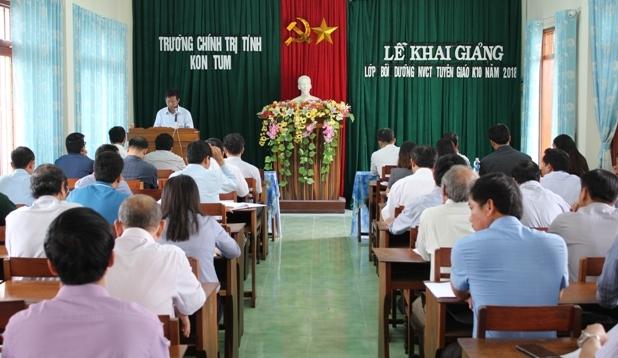 Kon Tum: Bồi dưỡng nghiệp vụ công tác tuyên giáo năm 2018  
