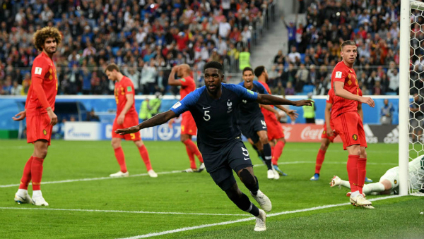 Đánh bại Bỉ, Pháp lần thứ 3 vào chung kết World Cup