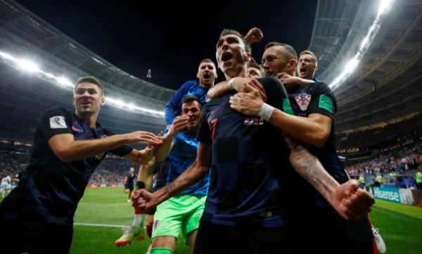 """""""Tam sư"""" gục ngã, Croatia đi vào lịch sử"""