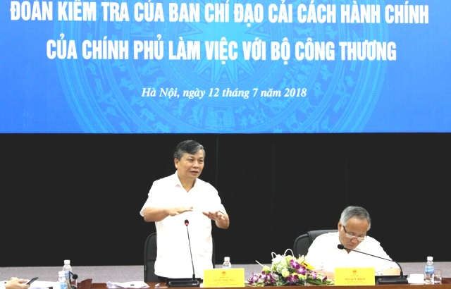Bộ Công Thương: Coi trọng và đẩy mạnh cải cách hành chính