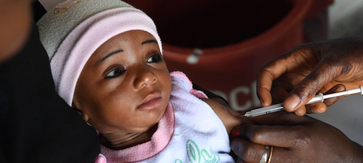 WHO và UNICEF: Kết quả tích cực trong tiêm chủng cho trẻ em trên toàn thế giới
