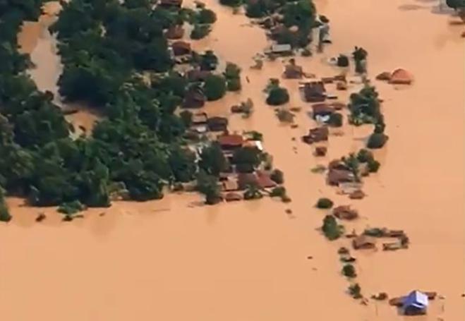 Chưa phát hiện trường hợp người Việt mất tích trong vụ vỡ đập thủy điện tại Lào