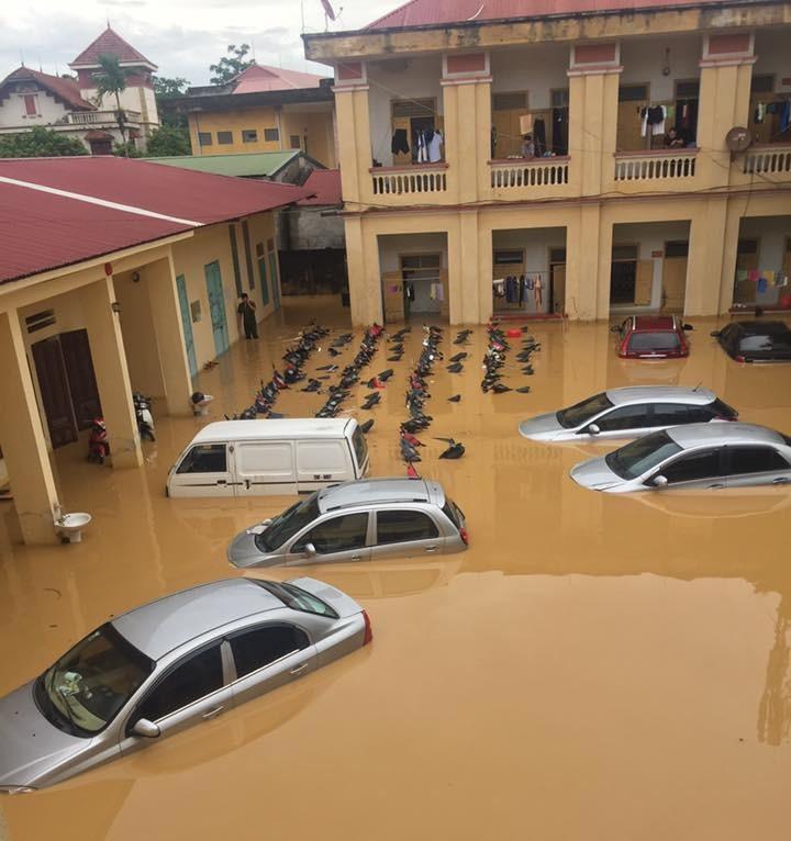 Phú Thọ: Mưa lũ gây thiệt hại nặng, nhiều tuyến đường và xã bị chia cắt