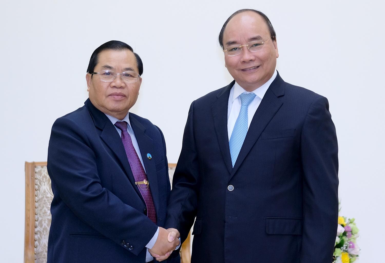Tiếp tục phát triển quan hệ đặc biệt Việt-Lào
