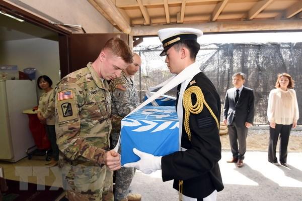 Triều Tiên, Mỹ bắt đầu thảo luận trao trả hài cốt binh lính
