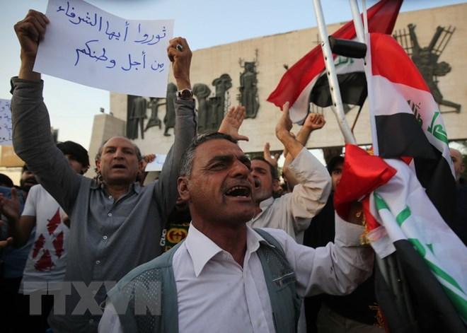 Làn sóng biểu tình tại Iraq bước sang tuần thứ hai