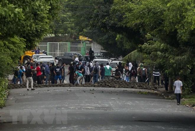 Liên hợp quốc quan ngại tình trạng bạo loạn đường phố tại Nicaragua