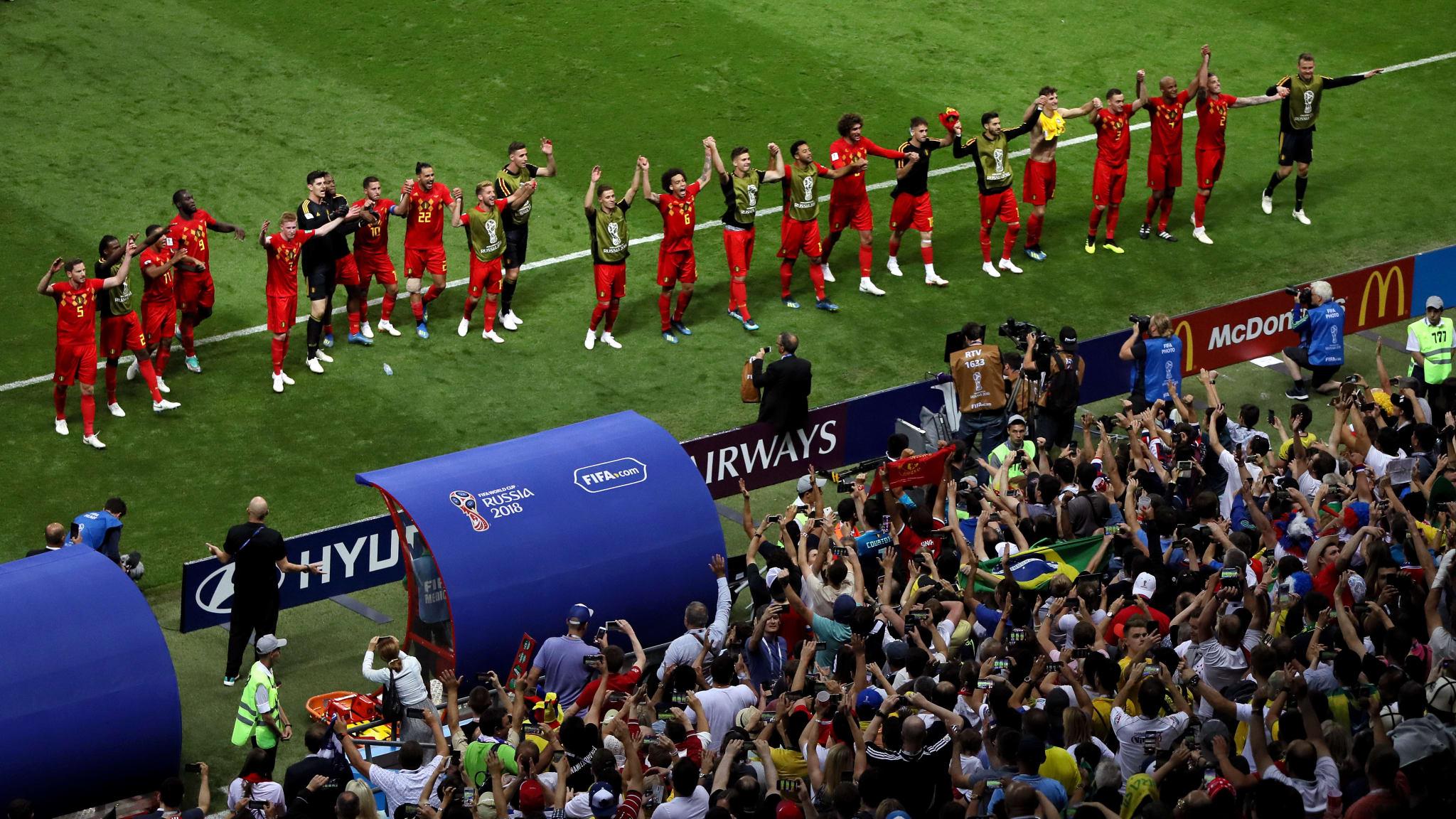 Bỉ tiễn Brazil về nước, World Cup trở thành Euro