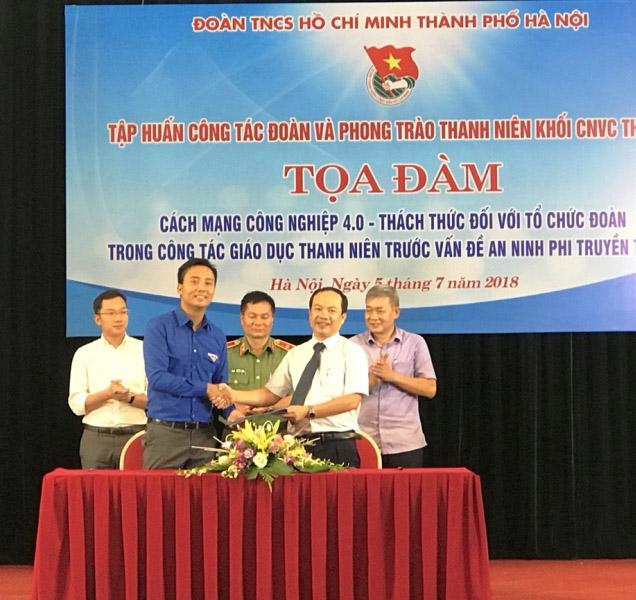 Tổ chức Đoàn với công tác giáo dục thanh niên trước vấn đề an ninh phi truyền thống