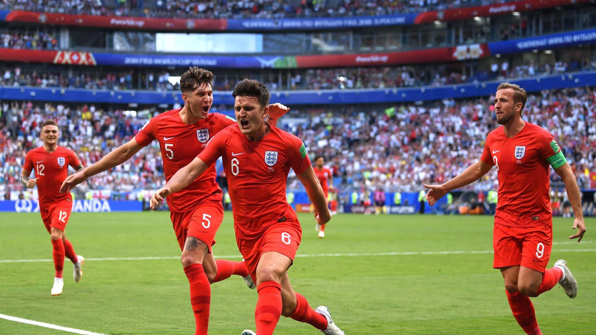 """""""Sư tử"""" Anh hùng dũng tiến vào bán kết World Cup 2018"""
